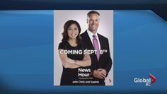 Watch Coming up on the News Hour…Sophie Lui! Veteran journalist joins Chris Gailus on Global BC News Hour. News Hour, Watch News, Community, Videos