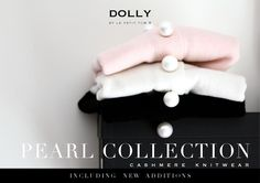 Cashmere knitwear for pearlized and pampered dolly girls DOLLY by Le Petit Tom ® designed an exclusive, collection with luxury cashmere and merino wool accessorized with pearls. Cashmere is cool in summer and cozy in winter. Pearls make you feel pampered!The Pearl Collection is sophisticated and refined knitwear made by an established atelier specialized in the best cashmere and wool productions. Wear your luxury DOLLY Knits when you are in need of some warmth and pampering!