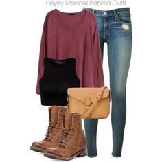 """""""The Originals - Hayley Marshall Inspired Outfit"""" by staystronng on Polyvore"""