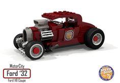 https://flic.kr/p/PrtRVo | MotorCity Ford 1932 V8 Coupe - Lucky Eddie's Speed Shop