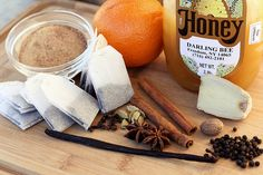 Ingredients for Homemade Chai Tea Concentrate by Tasty Yummies, via Flickr