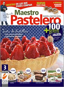 #Maestro #Pastelero 3. Les recomiendo especialmente la Torta de frutillas con crema pastelera y pistachos picados. $10.90 The Best, Biscuits, Bakery, Pie, Bread, Cooking, Desserts, Recipes, Food