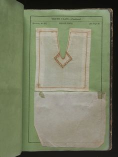 Simple Directions in Needlework and Cutting Out intended for the use of the National Female Schools of Ireland, 1835