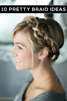 Cute braided hairstyles for fall!