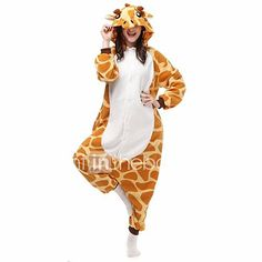 2018 Adults Onesies - Animal Women Mens Giraffe Onesie Costumes Cosplay Outfit Pamajas and more Animal Costumes for Women, Giraffe Costumes for Women, Women's Halloween Costumes for Animé Halloween, Animal Halloween Costumes, Halloween Onesie, Holiday Costumes, Halloween Cosplay, Halloween Festival, Halloween Pajamas, Unicorn Halloween, Adult Pajamas