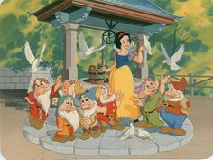 Snow White. At this point I sure wanted a few friends. We had moved several times and I had no friends near by when I watch this movie.
