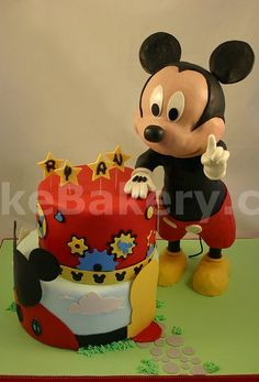 Birthday: Mickey Mouse Clubhouse 3D Cake WOW!