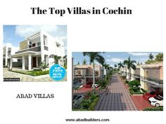 Villas For Sale in Kochi - Cochin Villas - Abad Builders Villas are available from Abad builders in Kochi at affordable price now. Book your luxury villas in Cochin from top builders in Ernakulam. Get the best deals and offers from the Abad builders for villas in kochi.