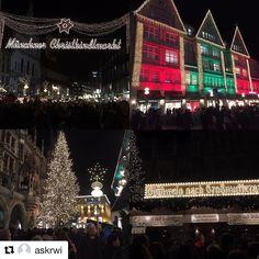 Julemarked i Munchen har åpent fram til 24.desember. #reisetips #reiseblogger #reiseliv  #Repost @askrwi with @repostapp  #munchen #julemarked #kristkindlemarkt #reiseradet #reiseliv
