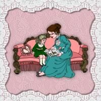 Victorian Dolls, Victorian Traditions, The Victorian Era, and Me: Grandma, Will You Read Me A Story?