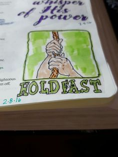 Bible journaling job 27
