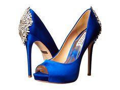 Show Stoppers -- Badgley Mischka Kiara in Blue