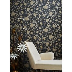 Graham & Brown Kelly Hoppen Style Botanical Floral Wallpaper   AllModern