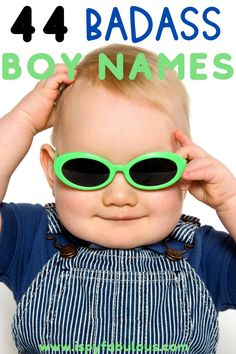 These badass boy names are cool and have strong meanings. Finding your new favorite boy name just got a lot easier! #boynames #babynames Badass Boy Names, Cool Boy Names, Unique Boy Names, Italian Baby Names, Irish Baby Names, Celebrity Baby Names, Celebrity Babies, Modern Baby Names, Gender Neutral Names
