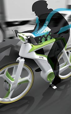 Purify The Air As You Ride, With This Photosynthesis Bike #green #tech #technology