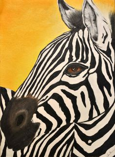 Pintura De Una Cebra #Africa, #pinsland, https://apps.facebook.com/yangutu