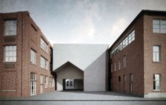 architecture faculty of the catholic university in Leuven . aires mateus