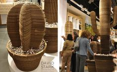 west elm, cardboard furniture, recycled materials, sustainable design, green design, packaging reuse, interior design, green furnishings, ar...