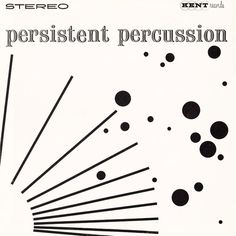 Persistent Percussion (Kent) album cover by Josef Albers.