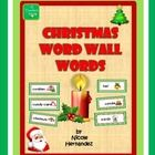 These are most of the Christmas words that you will need for your Christmas bulletin board and word walls. Each word card has a graphic representat...$4