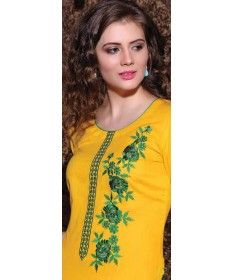 Yellow Green Cotton - MY02