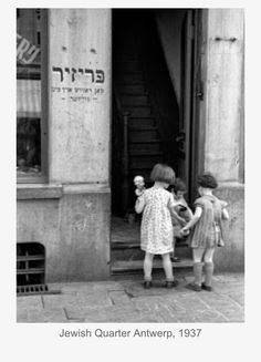Jewish Quarter 1933 Paris