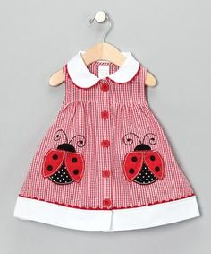 Some days, I wish I had another baby girl to dress in cute lady bug stuff! Some days, I wish I had another baby girl to dress in cute lady bug stuff! Baby Outfits, Little Dresses, Little Girl Dresses, Kids Outfits, Cute Outfits, Girls Dresses, Toddler Dress, Baby Dress, Dress Girl