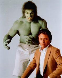 O Incrível Hulk - eu tinha pavor de ver a transformação...o.o