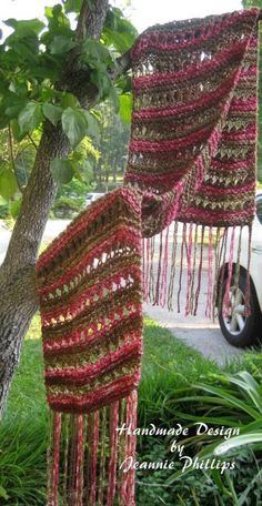 This is a prayer shawl that I loom knitted for a dear friend of mine.