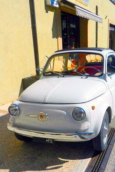 Fiat 500 / Montefalco / Umbria / Italy