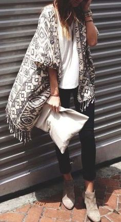 street #style fall / geo print