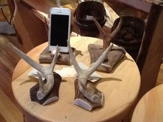 Call Barb At Misty Mountain Furniture And Get Your Antler Electronics  Holder. True Original Gift