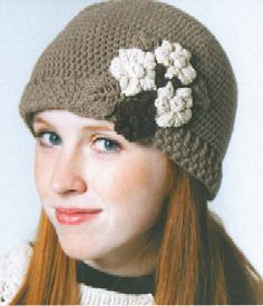Cute Crochet hats... Might have to find someone to teach me to read crochet patterns...  :)