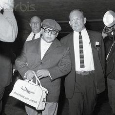 Extradición a Venezuela del General Marcos Pérez Jiménez desde Miami en 1963