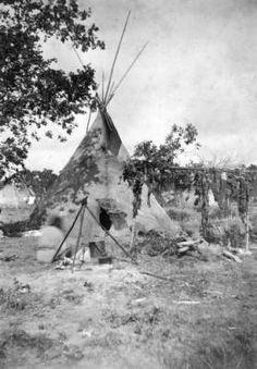 """""""Cheyenne Lodge"""" (& surroundings) :: 1880"""
