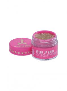 Jeffree Star Hot Cocoa Peppermint Lip Scrub $21 Pinterest @MANARELSAYED