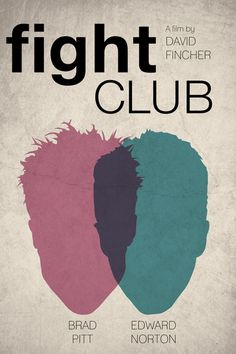 Fight Club is not only a mystery movie, but also a must watch movie for young generation. And here we are with must downoad Fight Club Poster collection. Creative Poster Design, Design Poster, Creative Posters, Cool Posters, Poster Designs, Film Posters, Club Poster, Movie Poster Art, Minimal Movie Posters