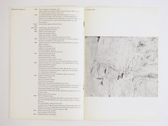 Catalogus Stedelijk Museum 390: Cy Twombly, 1966