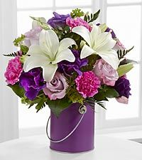 The Color Your Day With Beauty™ Bouquet by FTD® - VASE INCLUDED