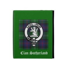 Clan Sutherland iPad Folio Case