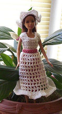 Fashion Doll Easter Dress pattern by C.L. Halvorson
