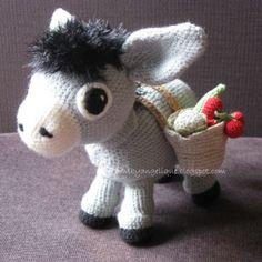 Free Donkey Amigurumi Crochet Pattern
