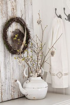 Antique Passion hygge style spring decorating ideas