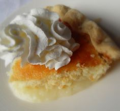 The English Kitchen: Lemon Cake Pie