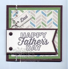 Hey, Man Father's Day gift card #paperpumpkinMay #StampinUpfathersday #masculinecard