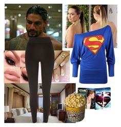 """At the Hotel With Joe"" by carolalink ❤ liked on Polyvore featuring CO and River Island"