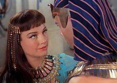 Ann Baxter & Yul Brynner  The Ten Commandments Movie