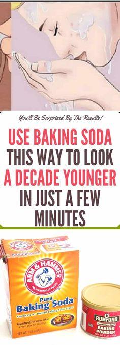 Use Baking Soda This Way to Look a Decade Younger in Just a Few Minutes