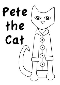 Printable Pete The Cat Color By Number Activity Activity Available