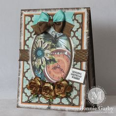 Make Time To Craft: Really Reasonable Ribbon Vintage Themed Challenge